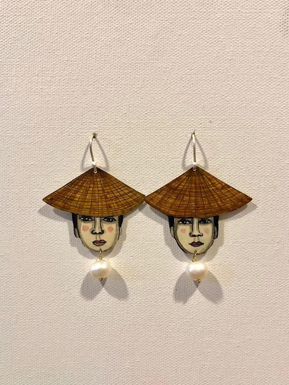 Earrings by Juliette Lepage Boisdron