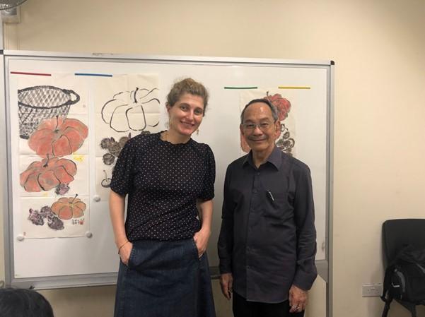Singapore with Mr. Lim Choon Jin